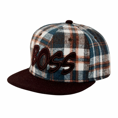 San Diego Hat Co. Plaid BOSS Hat