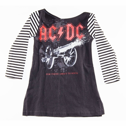 SandBox Rebel Girls AC/DC Betsy Dress (6-12m)