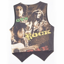 SandBox Rebel Bob Marley New York Pinstripe Vest (4)