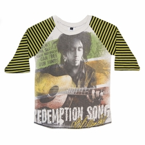 SandBox Rebel Bob Marley Old Skool Raglan (8)