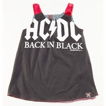 SandBox Rebel Girls AC/DC Reversible Emma Dress (2)