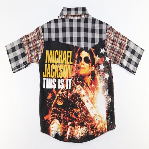 SandBox Rebel Michael Jackson Brett Shirt (6)
