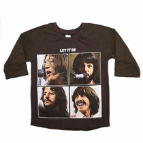 SandBox Rebel The Beatles Old Skool Raglan (10)