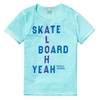 Scotch Shrunk Aloha Skate Board Yeah Tee