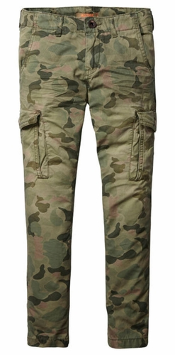 Scotch Shrunk Camo Combat Pants
