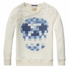 Scotch Shrunk Geo Skull Pullover Sweatshirt
