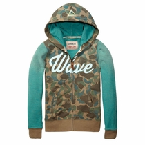 Scotch Shrunk Wave Camo Hoodie