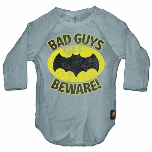 Trunk Batman Bad Guys Beware Raglan