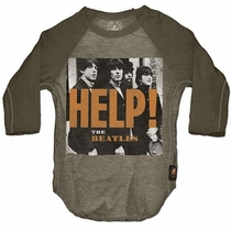 Trunk Beatles Help! Raglan Tee