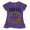 Trunk Girls Nirvana Smiley Face Swing Tee