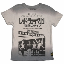 Trunk Led Zeppelin Starship Ombre Tee