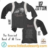 Trunk Led Zeppelin U.S Tour 1977 Long Sleeve Tee