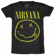 Trunk Nirvana Smiley Face Tee