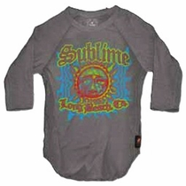 Trunk Sublime Long Beach Raglan Tee