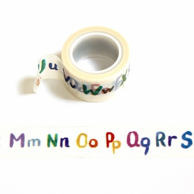 Alphabet Washi Tape - out of stock