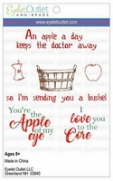 * Apple Clear Stamp Set