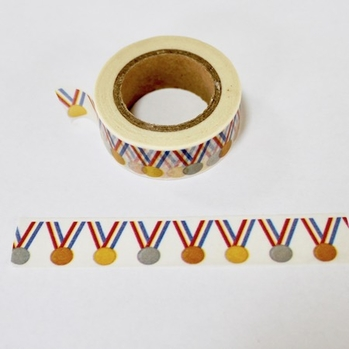 * Award Medal Washi Tape