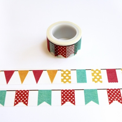 Banner Washi Tape - Wide - out of stock