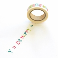 Be Happy Washi Tape