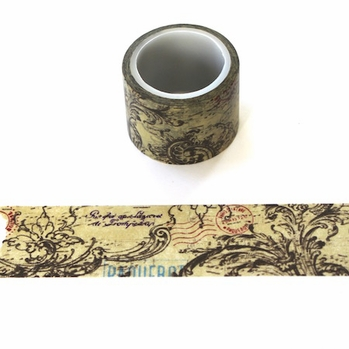 Beautiful Brown Washi Tape - Wide - out of stock