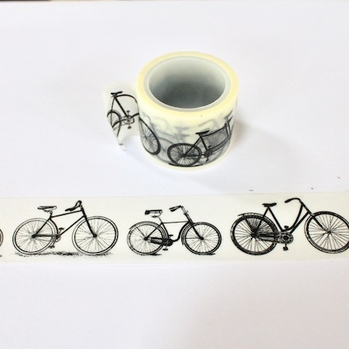 Bicycle Washi Tape - Wide