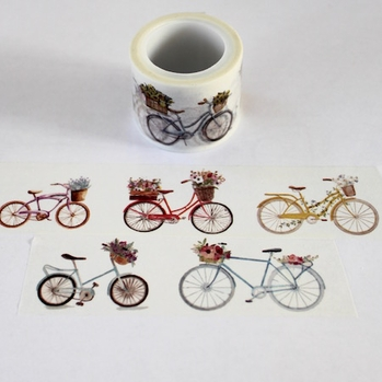 Bike Washi Tape - Wide