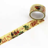 Bird Noel Washi Tape