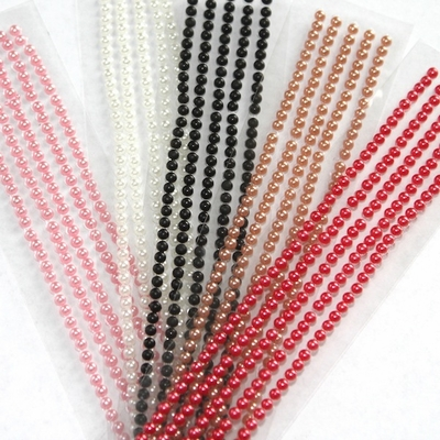 Pearl Bling Strips - 500/Sheet