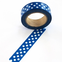 Blue Dot Washi Tape