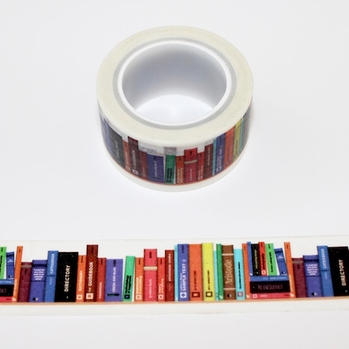 Book Washi Tape
