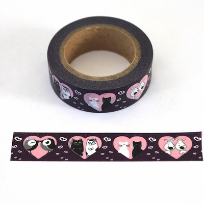 Cat Heart Washi Tape
