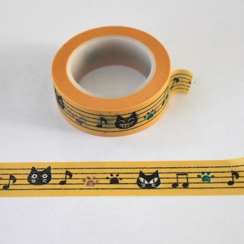 Cat Music Washi Tape