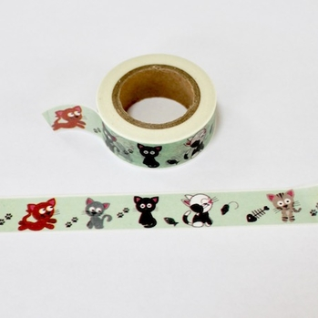 Cat Washi Tape - Out Of Stock