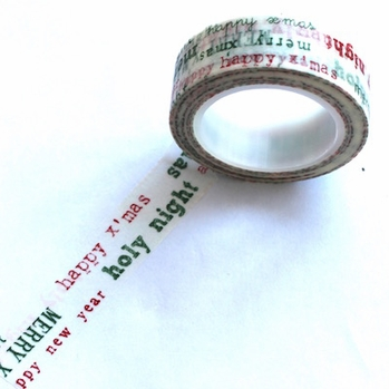 Christmas Washi Tape