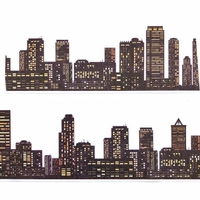 City Washi Tape - Wide