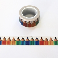 Color Pencil Washi Tape - Wide
