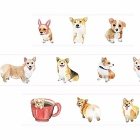 Corkie Dog Washi Tape