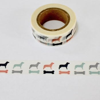 * Dog Washi Tape - Out Of Stock
