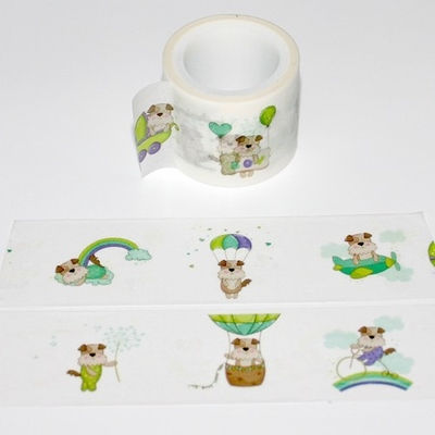 Dog Washi Tape - Wide