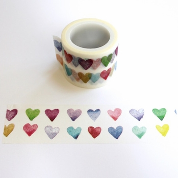 Double Heart Washi Tape - Wide - out of stock