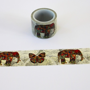 Elephant Washi Tape - Wide