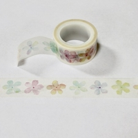 Faded Flower Washi Tape