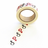 Female/Male Washi Tape