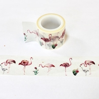 Flamingo Washi Tape - Wide