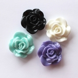 Flower Flatback Resin - 30mm