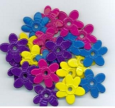 Flower Quicklet Eyelets-Brights