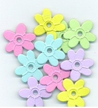 Flower Quicklet Eyelets-Pastel