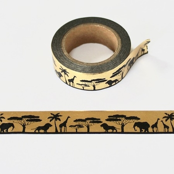 * Foil Animal Washi Tape