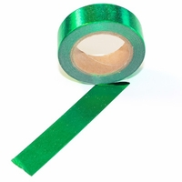Foil Washi Tape - Green