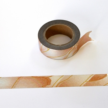 Foil Washi Tape - Rainbow Copper